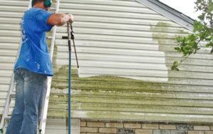 fördelar med att rengöra huset med en högtryckstvätt